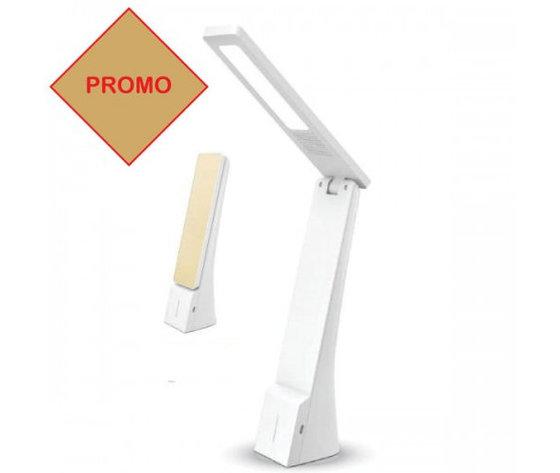 4W LED Lampada Tavolo Bianco & Oro-7099