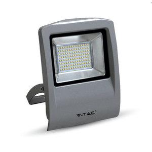 50W Proiettor LED Corpo Grigio SMD 3000K-5664