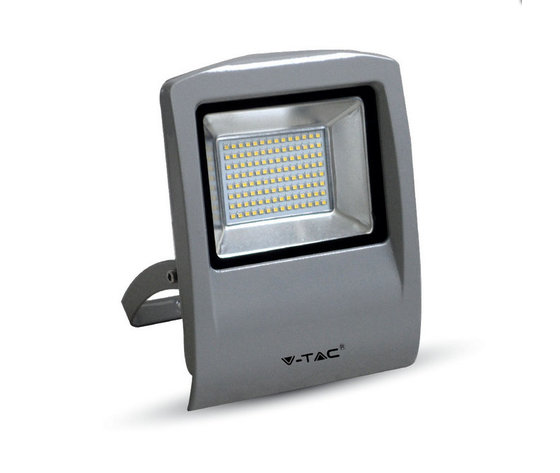 50W Proiettor LED Corpo Grigio SMD 4500K-5665