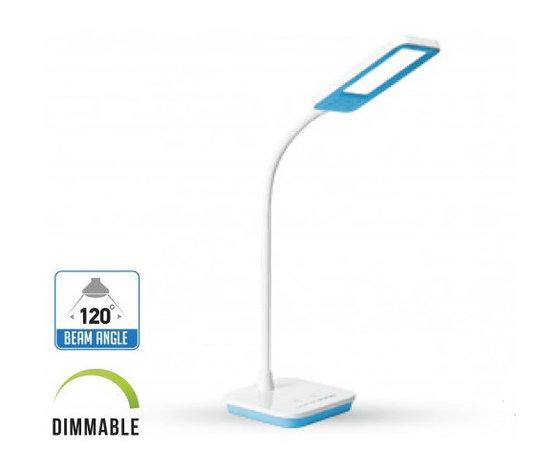 7W LED Lampada Tavolo 3 in 1 Dimmerabile Corpo blu-7043