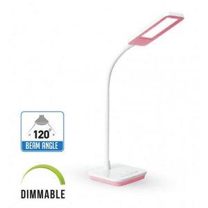 7W LED Lampada Tavolo 3 in 1 Dimmerabile Corpo rosa-7042