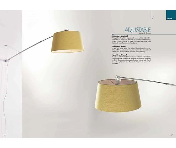 LAMPADA ADJUSTABLE- CAT 137/150A