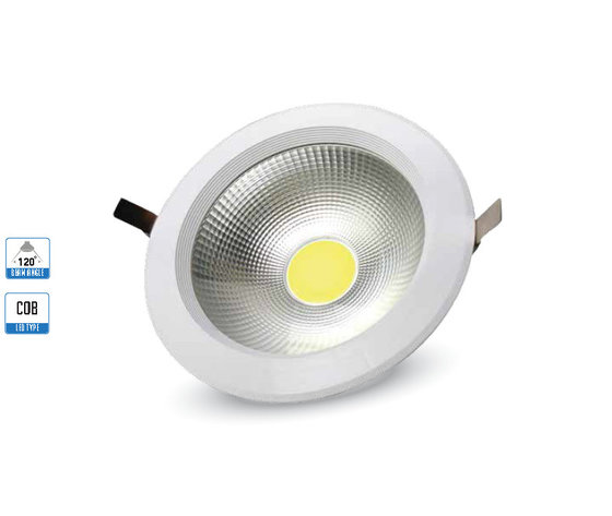20W Spot LED Riflettore PKW corpo Bianco naturale-1104