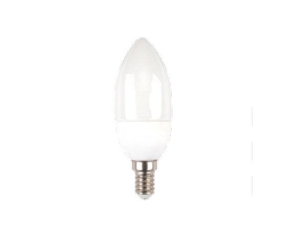 LAMPADINA LED E14 6W BIANCO CALDO A CANDELA DIMMERABILE-4213
