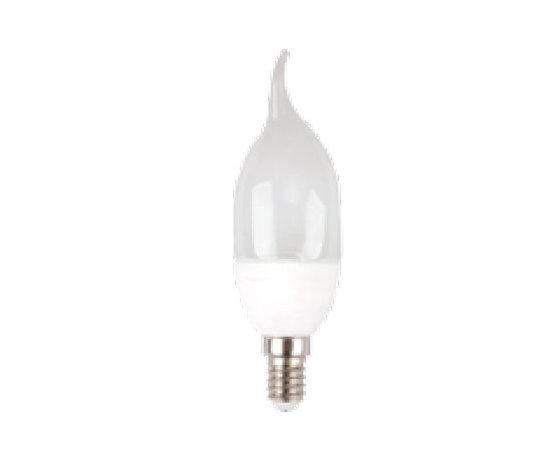 LAMPADINA LED E14 4W BIANCO CALDO A FIAMMA-4164