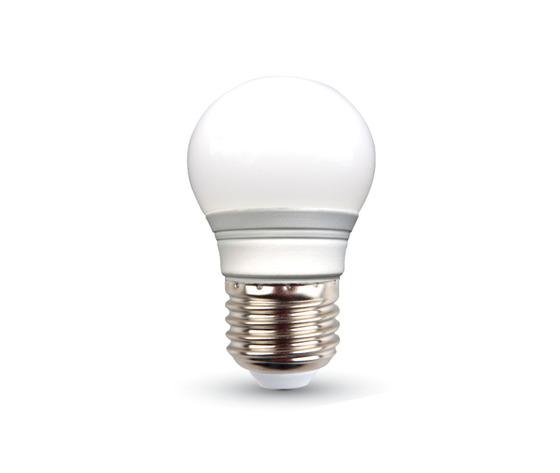 Lampadina LED 4W E27 P45 Bianco caldo-4160