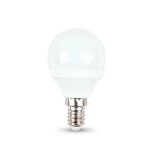 Lampadina LED 6W E14 P45 Bianco caldo-4250