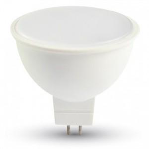 LAMPADINA LED GU5.3 7W BIANCO CALDO 110 GRADI-1688