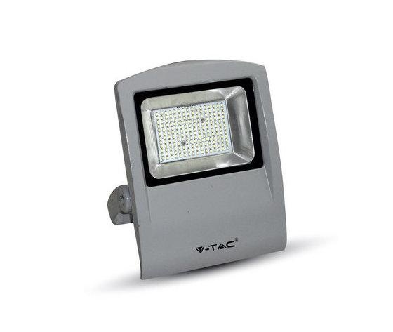 100W Proiettor LED Corpo Grigio SMD 3000K-5667