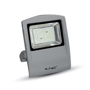 100W Proiettor LED Corpo Grigio SMD 4500K-5668
