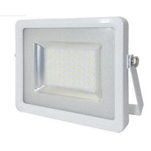 100W Proiettore LED Corpo Bianco SMD Bianco Caldo-5685