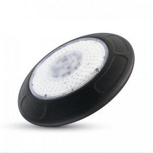 100W LED Campana a LED UFO Corpo Nero 6400K-5547