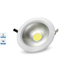 10W Spot LED COB Rotondo A++ 120Lm/W 3000K-1270
