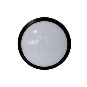 12W LED Rotondo Lampada da soffitto con Sensore Corpo Nero IP65 4500K-4971
