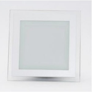 12W Pannello LED Mini Vetro quadrato Bianco freddo-4741
