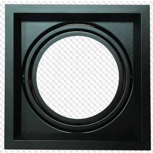 Plafoniere aperte LED 1xAR111 Nero-3581