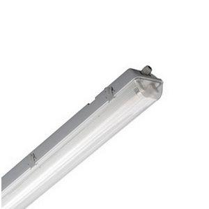 Plafoniere aperte per tubo LED 1 200 mm 2pz Impermeabile-6152