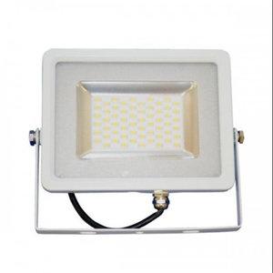 20W Proiettore LED Corpo Bianco SMD 4500K-5677
