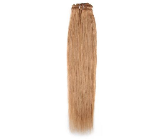 "capelli vergine liscio ""straight"" Peruviano naturale 45 cm"