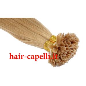 "capelli vergine liscio ""straight"" Peruviano naturale 50/55 cm"