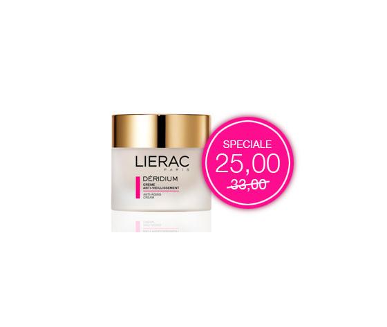 Lierac Deridium crema nutriente anti-atà per pelle secca e molto secca