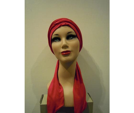 turbante rosa