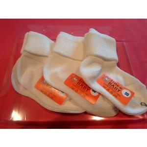 3 paia Calzini neonato 100% cotone  colore rosa