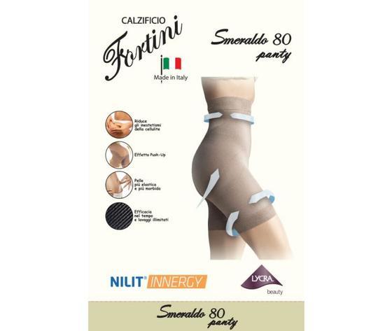 5 Panty Donna Smeraldo 80  - riduce la cellulite