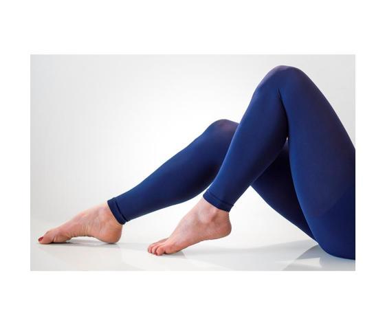 Legging effetto push-up 140 denari colore blu