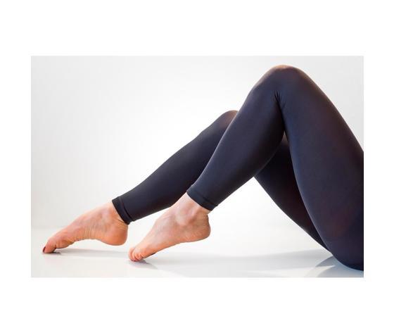 Legging effetto push-up 140 denari colore grigio