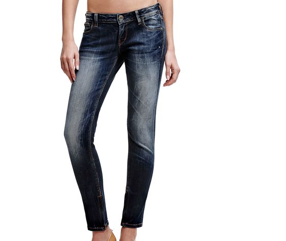 GUESS JEANS BEVERLY SKINNY ULTRA LOW A/I 16