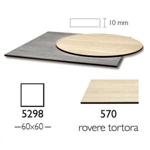 Piano Stratificato Compact cm 60x60 indoor spessore 10mm