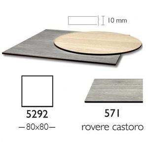 Piano Stratificato Compact cm 80x80 indoor spessore 10mm
