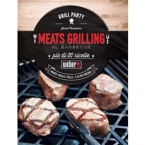 """WEBER LIBRO """"MEATS GRILLING"""""""
