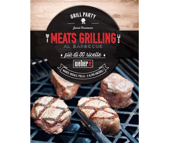 "WEBER LIBRO ""MEATS GRILLING"""