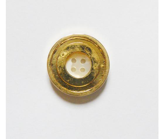 Bottone MadrePerla/Ferro 28 mm