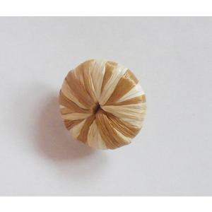 Bottone Pastica/Rafia 28 mm