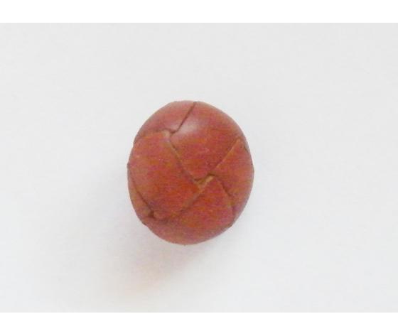 Bottone Cuoio/Ferro 18 mm