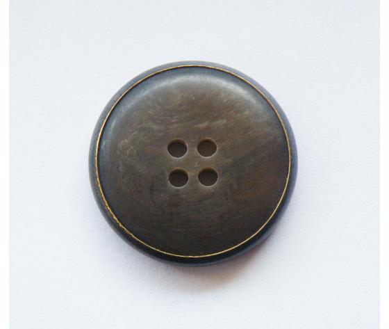 Bottone Corno/Ferro 24 mm