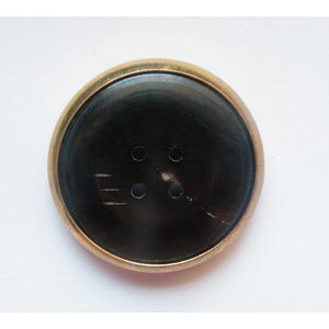 Bottone Corno/Ferro 29 mm