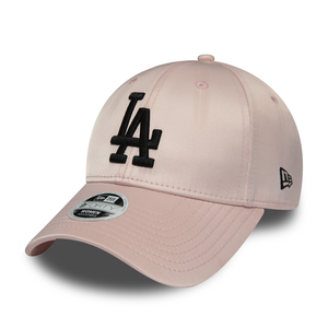 NewEra Cappellino LOS ANGELES DODGERS PINK SATIN 9FORTY