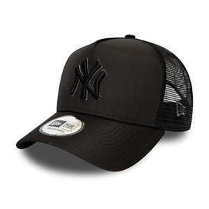 Cappellino NEW YORK YANKEES TONAL BLACK A-FRAME TRUCKER