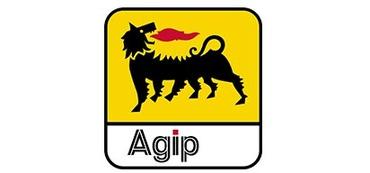 Logo agip vetrina
