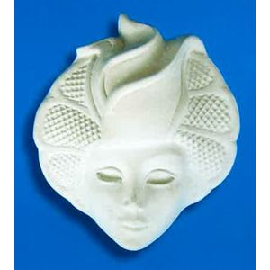 Maschera Art. 57  (Prodotto laccato bianco)