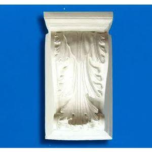 Capitello - mensola  in gesso (Prodotto laccato bianco)
