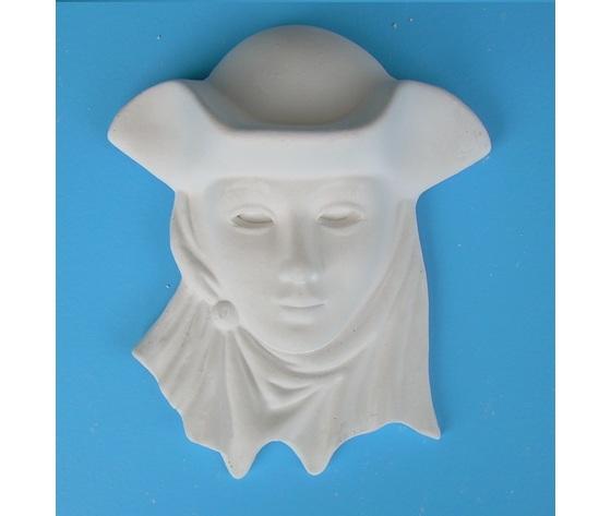 Maschera Art. 55  (Prodotto laccato bianco)