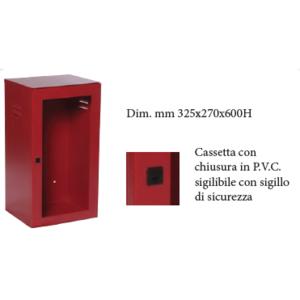 CASSETTA P. ESTINTORE KG. 6 CON PORTELLO PER LASTRA SAFE WINDOW