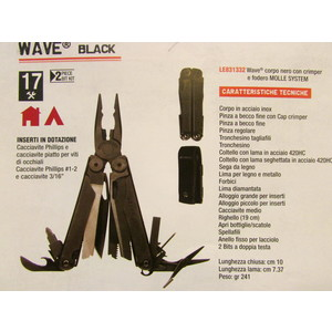 PINZA LEATHERMAN WAVE NERA