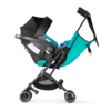 Product pockit  capri blue 2in1 travel system suitable from birth with gr 0 gb or cybex car seat 4251 4255 17 fr63cz