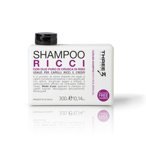 Three 3 Shampoo Ricci 300 ml